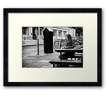 the Hardy reader Framed Print