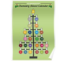 Chemist-Tree Advent Poster Poster