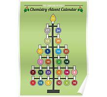 Chemist-Tree Advent Poster Poster