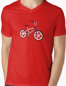 retro raliegh burner  Mens V-Neck T-Shirt