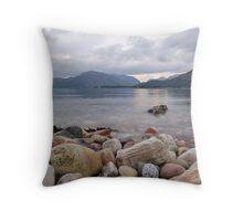 Loch Linnhe Rocks - 1 Throw Pillow