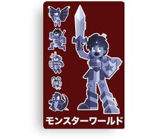 Wonderboy 3 The Dragons Trap, Sega Canvas Print
