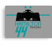 Lewis Hamilton 2015 Canvas Print
