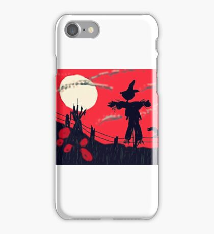 Halloween scarey iPhone Case/Skin