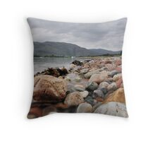 Loch Linnhe Rocks - 2 Throw Pillow
