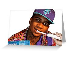 Oral B the Based God Greeting Card