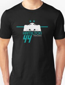 Lewis Hamilton 2015 - White T-Shirt