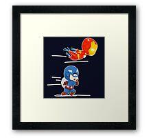 To Battle! Framed Print