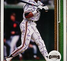 331 - Candy Maldonado by Foob's Baseball Cards