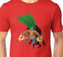 Super Electric Guy - papercut style Unisex T-Shirt