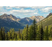 North Cascades View from near Methow Pass Photographic Print