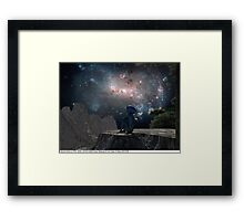 Blue Man 11: Homesick Framed Print