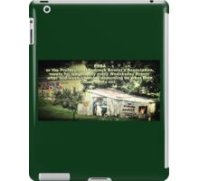 """""""PRBA: Professional Redneck Bowler's Association""""... prints and products iPad Case/Skin"""