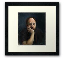 Louis CK Framed Print