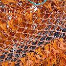 ORANGE FISHING NET by gothgirl