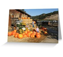A GREAT PUMPKIN PATCH  Greeting Card