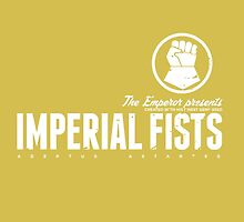 Imperial Fists - Sign - White by moombax