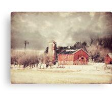 Sioux City Barn & Silo Canvas Print