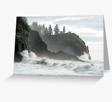 Cape Disappointment Lighthouse, Illwaco, WA Greeting Card