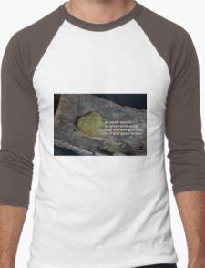 No heart should be green with envy… Men's Baseball ¾ T-Shirt