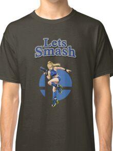 Zero Suit Samus Smash Bros Classic T-Shirt