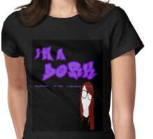I'm a D.O.R.K. (black) Womens Fitted T-Shirt