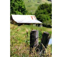 Greg's shack Photographic Print