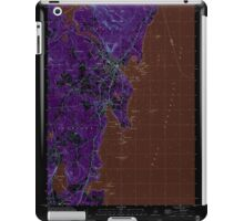 Maine USGS Historical Map Camden 104991 2000 24000 Inversion iPad Case/Skin