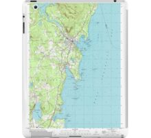 Maine USGS Historical Map Camden 104991 2000 24000 iPad Case/Skin