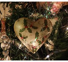 Christmas Heart by Amber Feng Shui Art