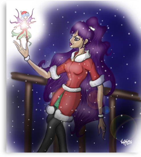 The Christmas Faerie  by Vestque