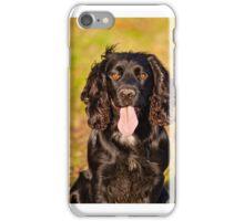 Black Cocker Spaniel iPhone Case/Skin