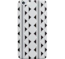 Vertical Triangles iPhone Case/Skin