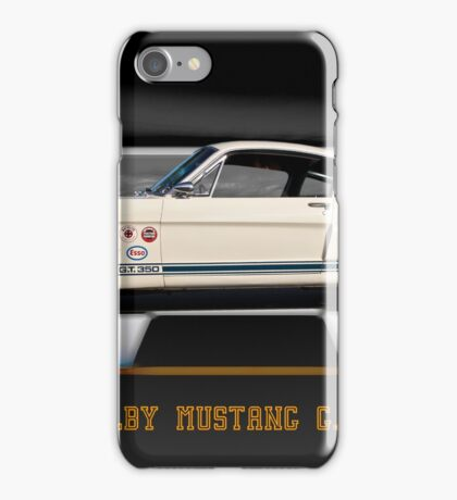 1966 Shelby Mustang G.T.350 iPhone Case/Skin
