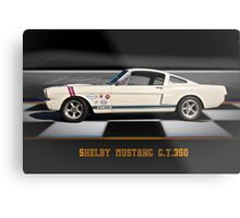 1966 Shelby Mustang G.T.350 Metal Print