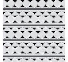 Horizontal Triangles Photographic Print