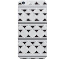 Horizontal Triangles iPhone Case/Skin