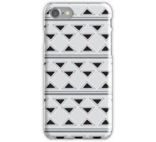 Horizontal Triangles iPhone Case/Skin