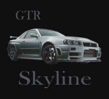 Skyline GTR by 1StopPrints