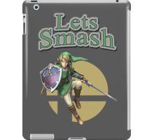 Link Smash Bros iPad Case/Skin
