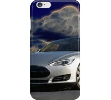 2014 Tesla Model S 'Sports Sedan' iPhone Case/Skin