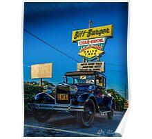 Biff Burger Car Show Poster