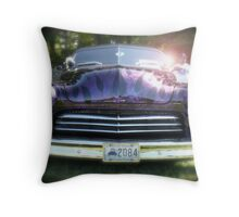 Classic Chopped Mercury  Throw Pillow