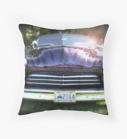Classic Chopped Mercury  Throw Pillow