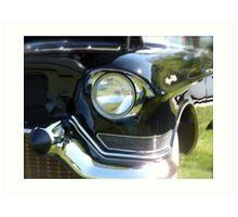 Classic 50's Cadillac  Art Print