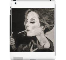 Smoking Lady  iPad Case/Skin