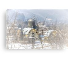 Winter Down In The Valley Canvas Print