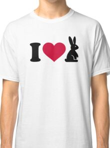 I love bunny Classic T-Shirt