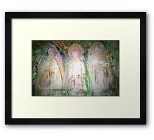 """women at the well"" Framed Print"