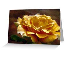 King Midas' Rose  Greeting Card